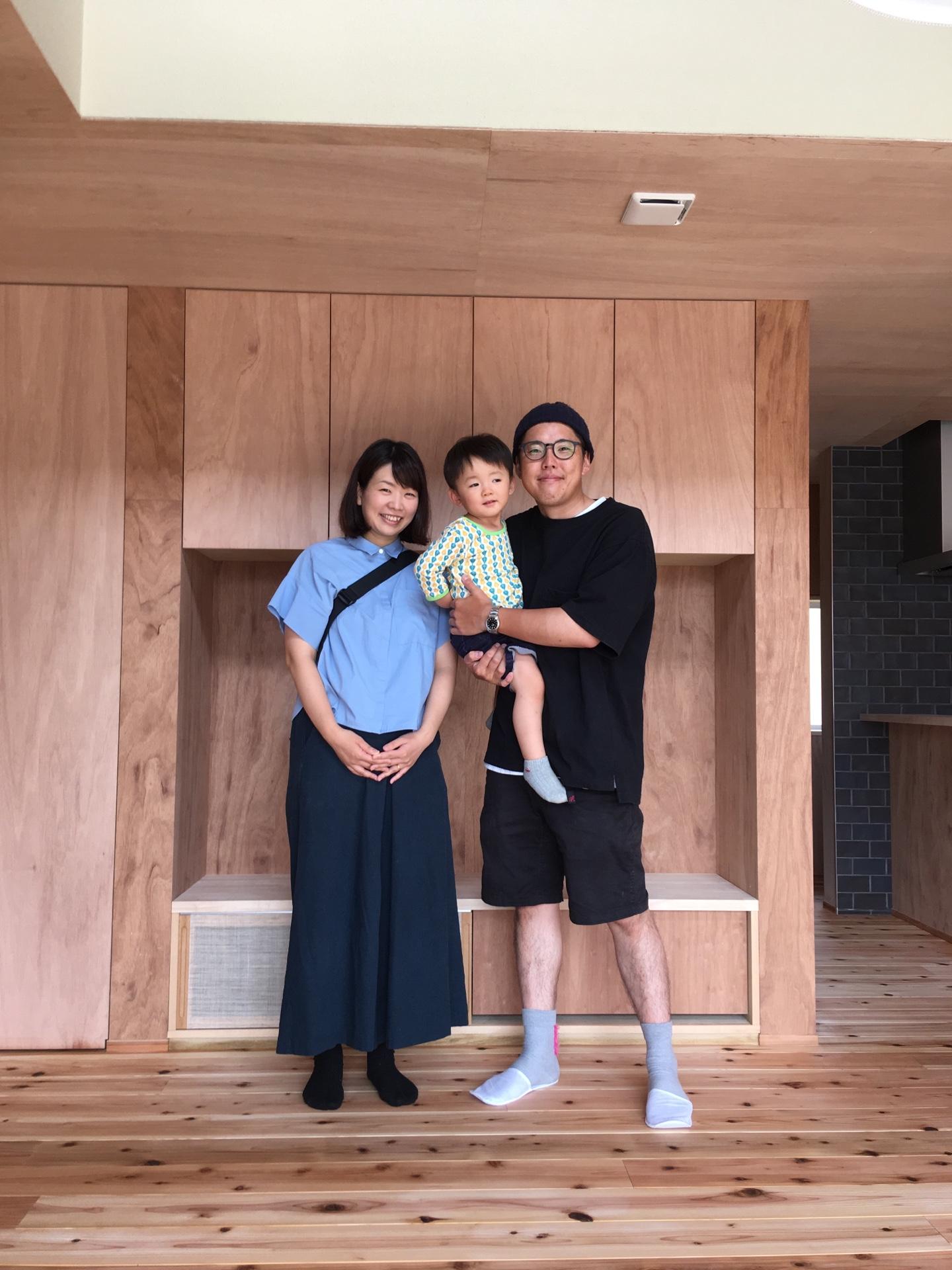 田原本町の家、見学会・お引渡し