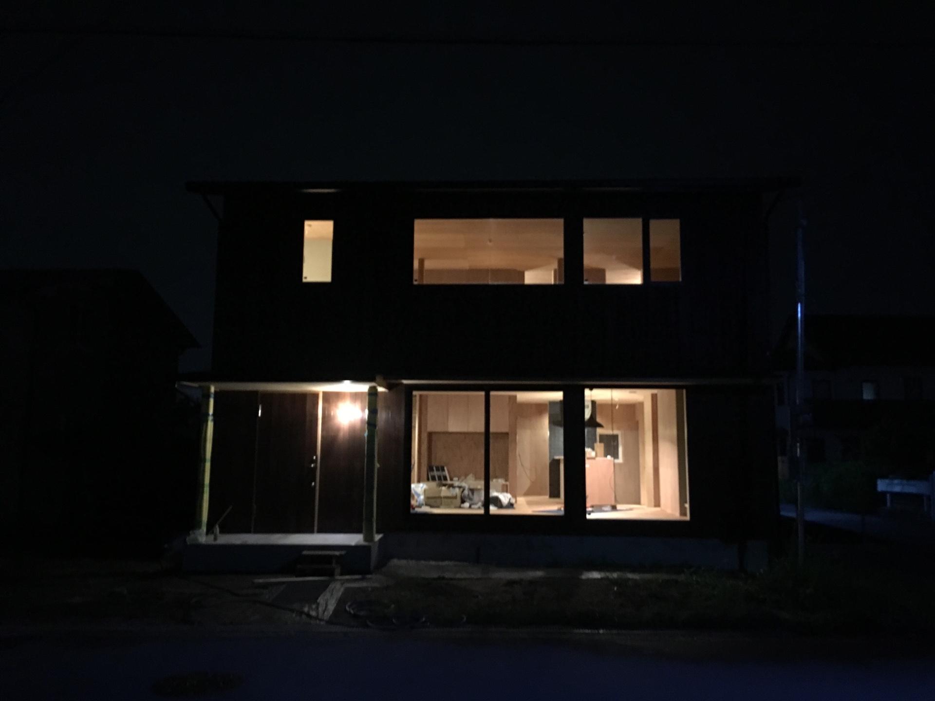 田原本町の家、見学会前