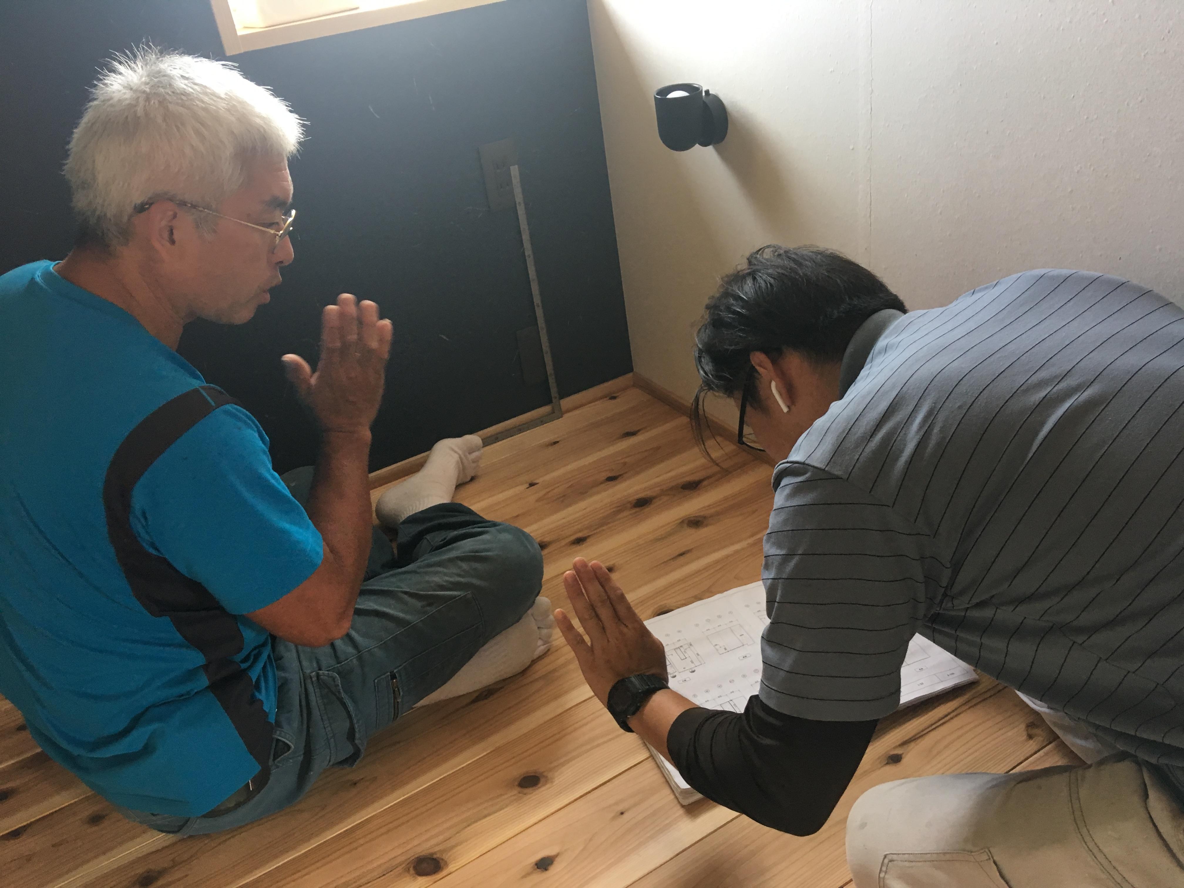 田原本町の家、追加造作工事